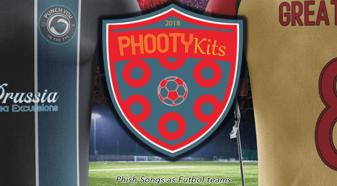 Explore a new realm of Phish & Futbol inspired apparel from PhooTykits