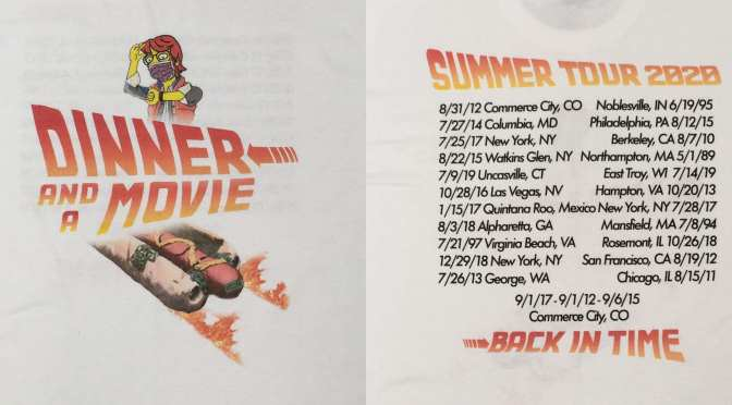 Dinner and a Movie – 'Summer Tour' 2020 Shirt