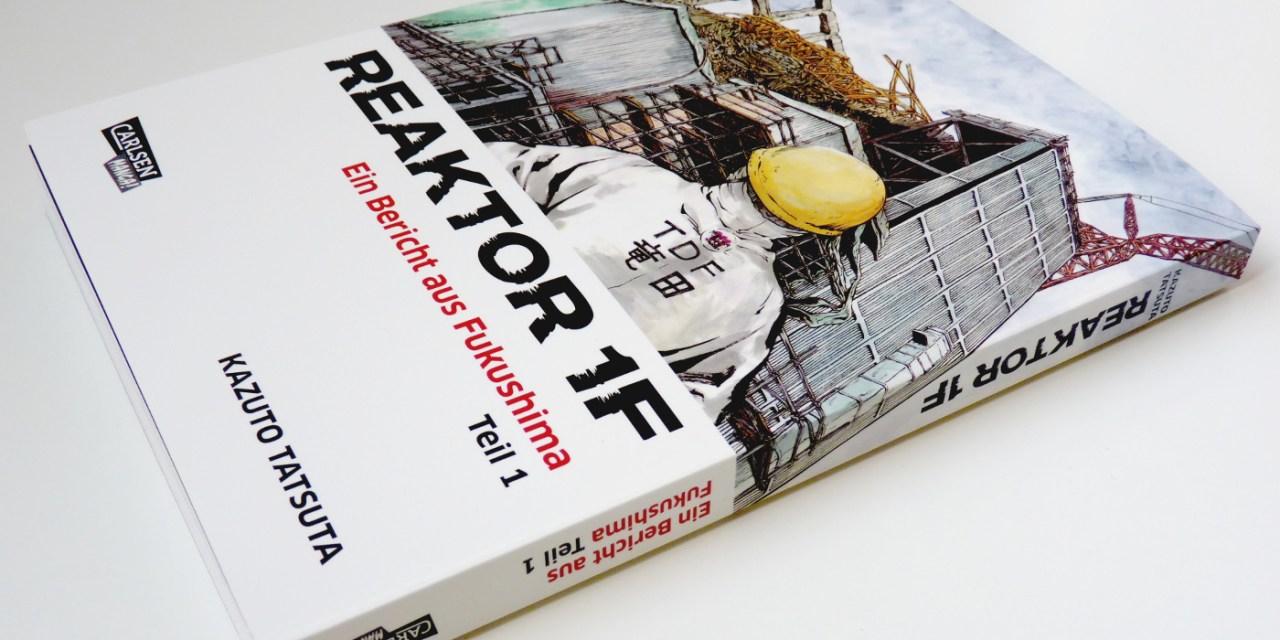 "Kazuto Tatsuta: ""Reaktor 1F – Ein Bericht aus Fukushima"" (Ichi Efu #1)"