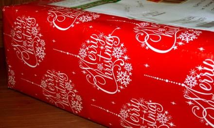 Ausgepackt: BücherWeihnachtswichtelpost 2016