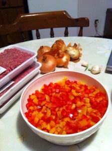 Chili con carne - Peperoni