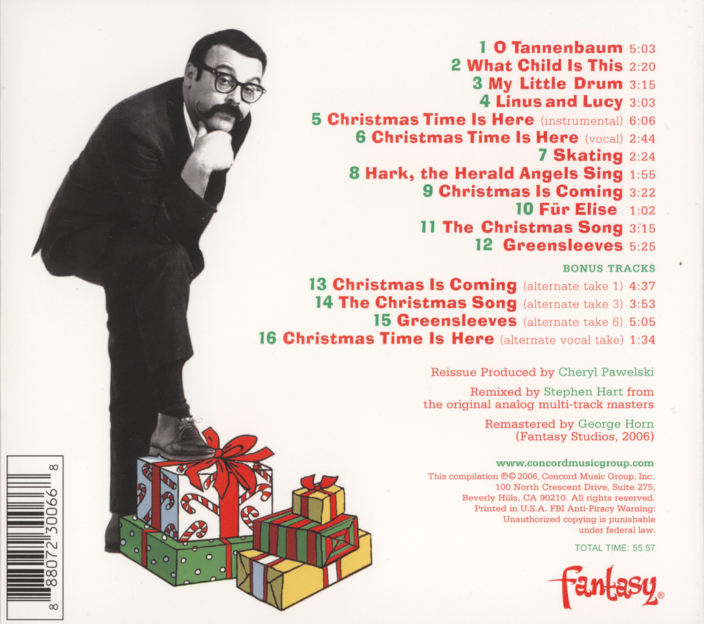 "My Favorite Christmas Album: ""A Charlie Brown Christmas"" by The ..."