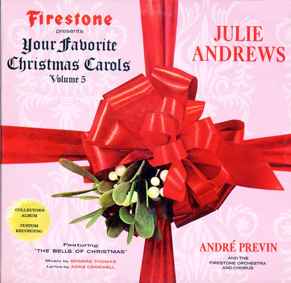 "My Favorite Christmas Album: Firestone Presents, ""A Christmas Treasure""."