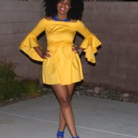 Joia Monet - 70s Inspired Dress