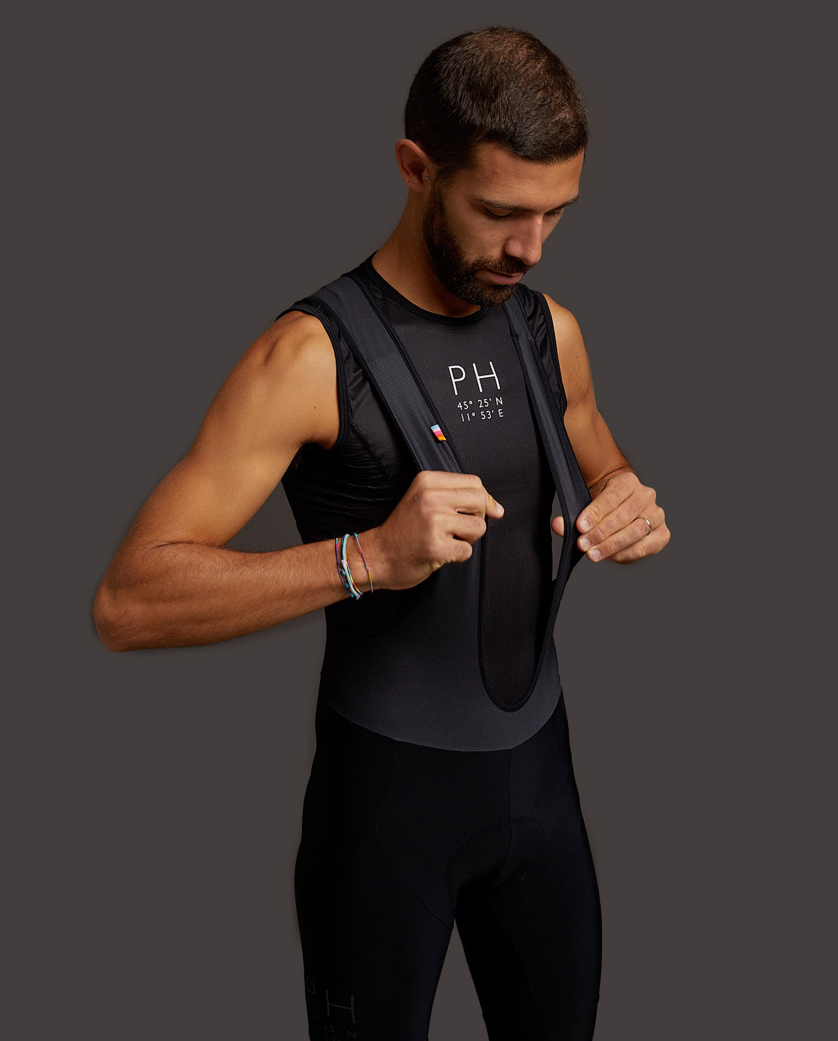 BASE LAYER - canotta nero