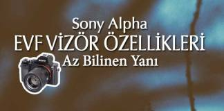 Sony EVF Vizör