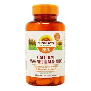 Sundown Calcium Magnesium & Zinc
