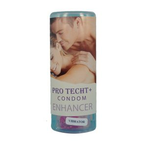 Pro Techt +Condom Enhancer with Vibrator
