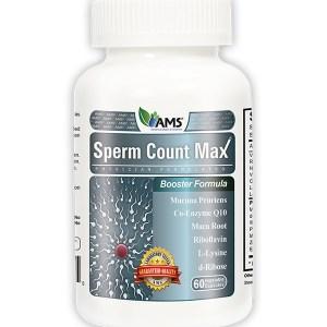 AMS Sperm Count-Max 60vegetable-capsules