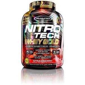 MuscleTech Nitro-Tech Whey-Protein Strawberry