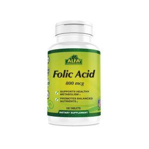 Alfa Vitamins Folic Acid