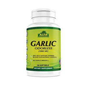 Alfa Garlic odorless