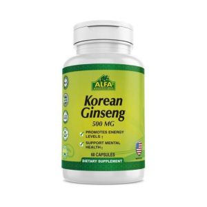 Alfa Vitamins Korean Ginseng