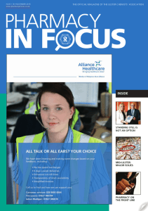 Pharmacy inFocus Magazine Issue 116