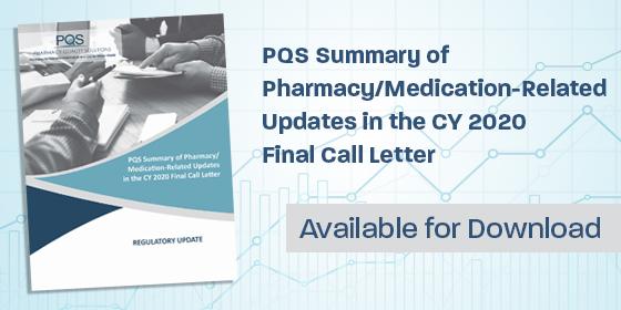 Cms 2020 Calendar PQS Summarizes CMS Calendar Year 2020 Final Call Letter | PQS