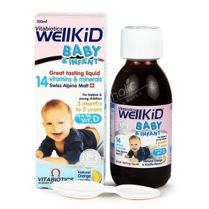 Vitabiotics Wellkid Baby & Infant Great Tasting Liquid