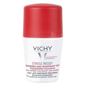 Vichy Deodorant Stress Resist Roll On -50ml-