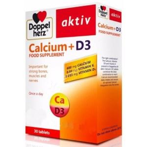 Doppel Herz Calcium + D3
