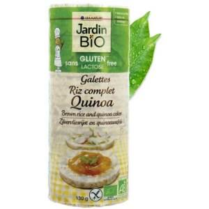 Brown Rice & Quinoa Cakes