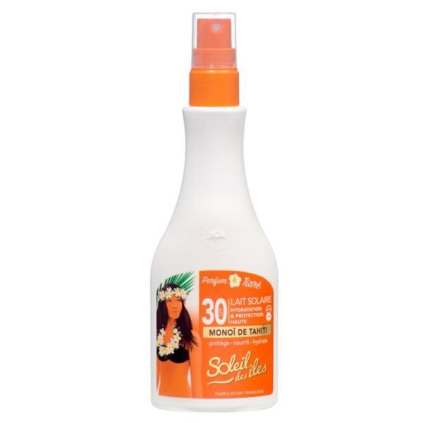 Soleil Des Îles Lait Solaire Parfum Tiaré SPF30