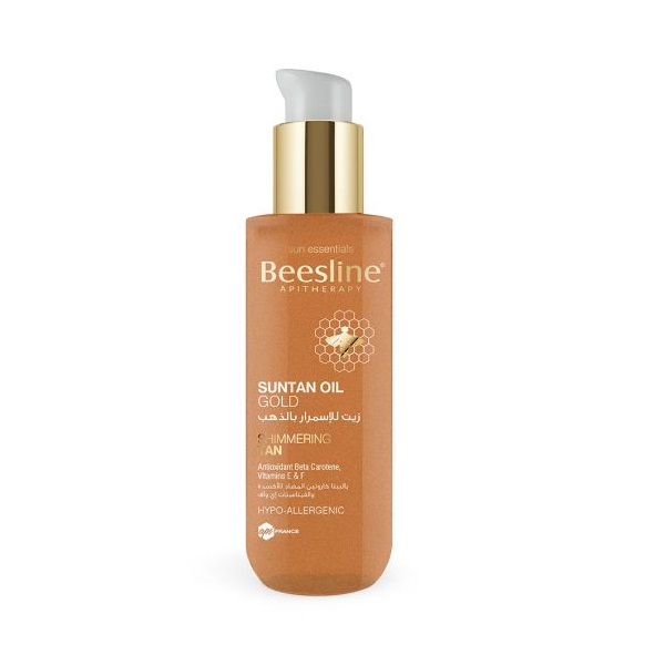 Beesline Suntan Oil Gold
