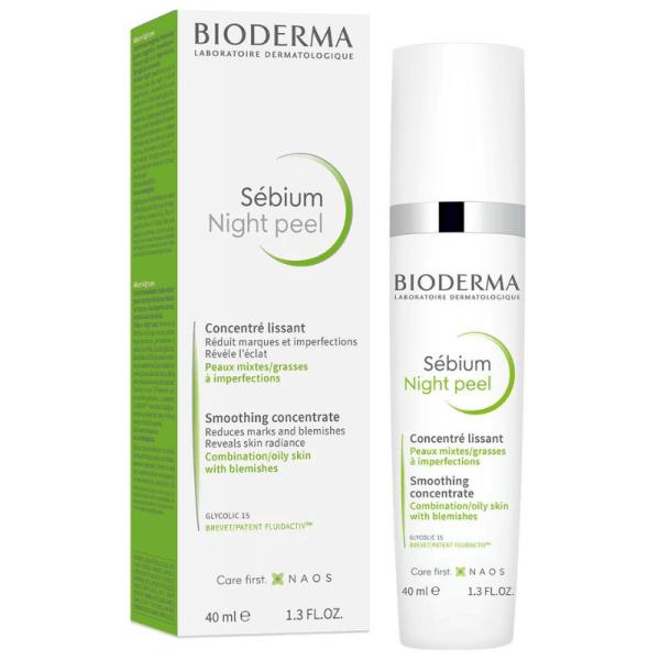 Bioderma Sebium Night Peel Soothing Concentrate 40ml