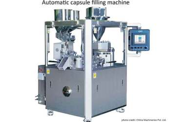 Encapsulators-image of automatic capsule filling machine