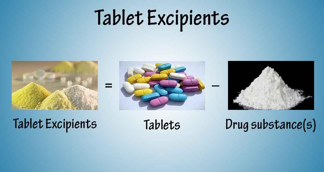 정제 제조에 사용되는 제약 부형제 - Pharmapproach.com