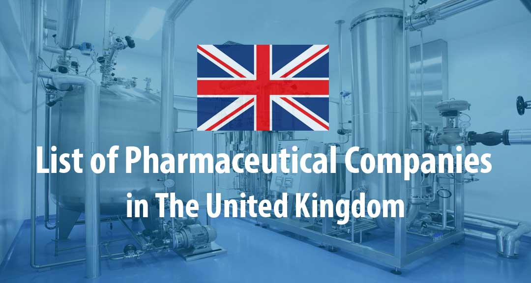 List of Pharmaceutical Companies in The United Kingdom