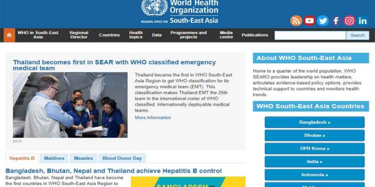 Featured image for WHO South-East Asia Region Country Offices