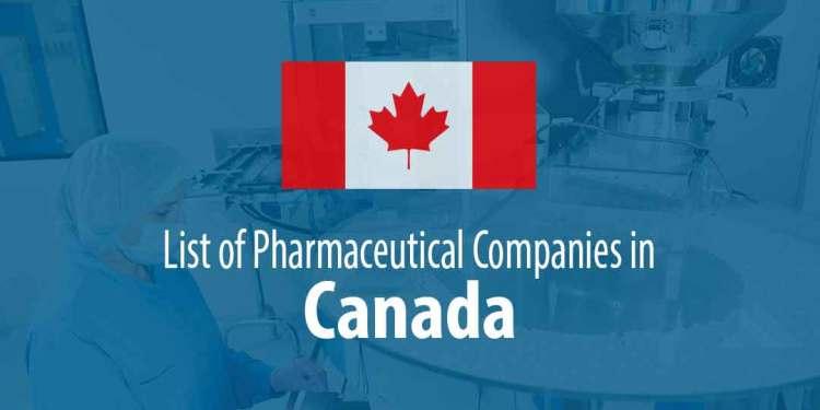 Pharmaceutical Companies in Canada