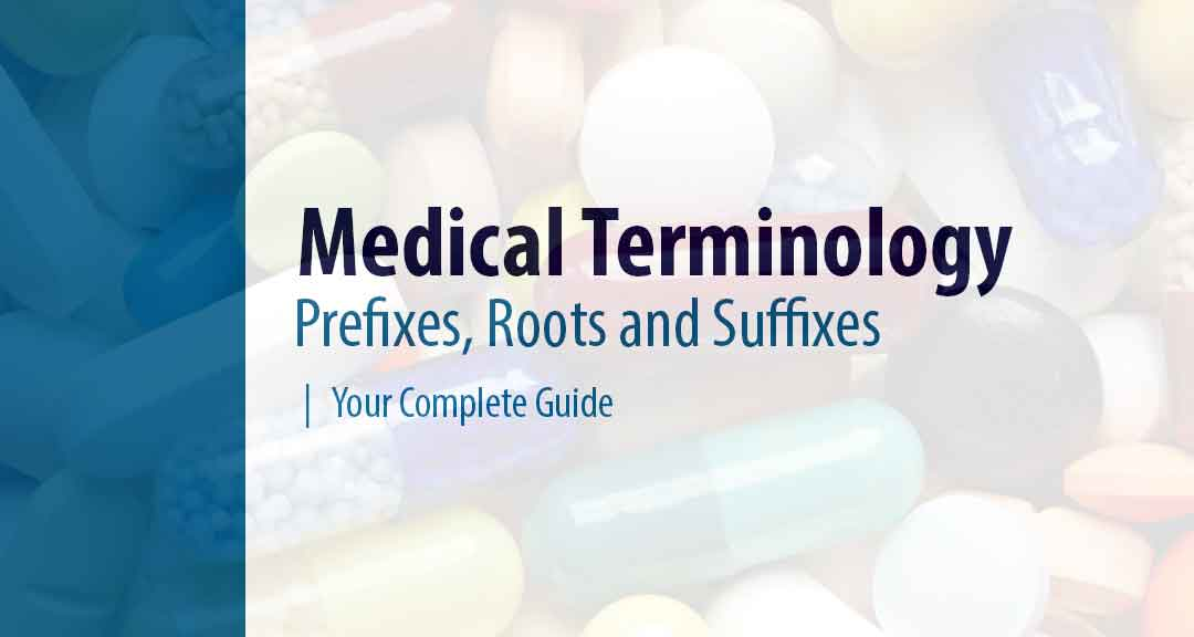 Common Prefixes Roots And Suffixes In Medical Terminology