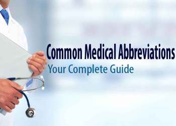 Featured image for common medical abbreviations