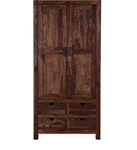 Wardrobe In Provincial Teak Finish     Pharneechar     Online Furniture     Home   Living   Wardrobe In Provincial Teak Finish