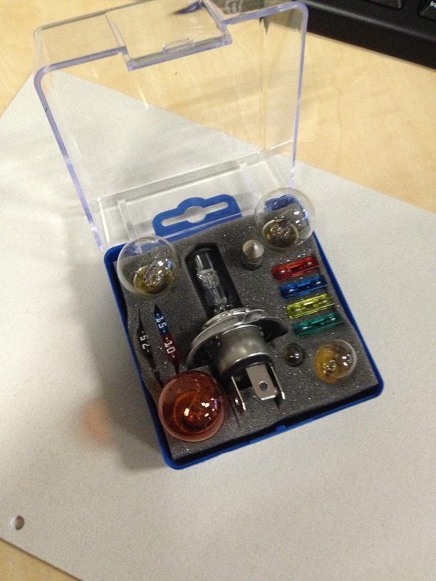 h4 12v coffret d ampoules de rechange