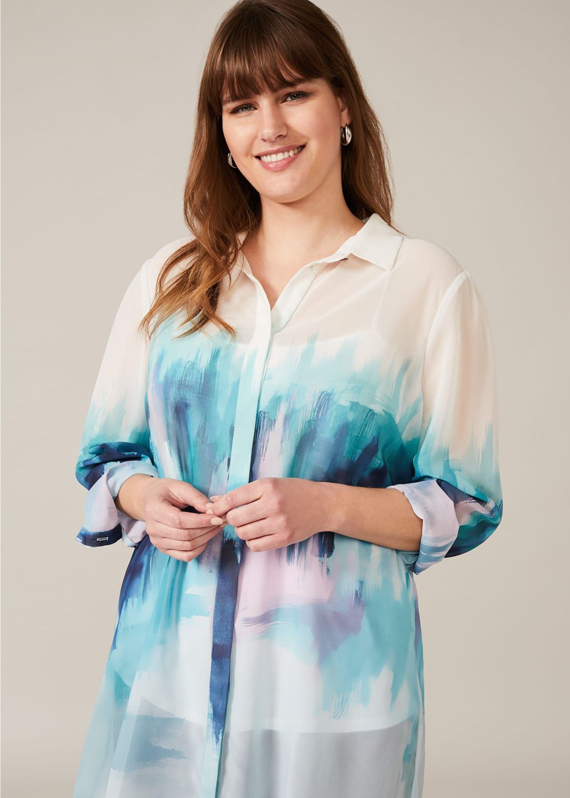 Quinn Pleated Blouse