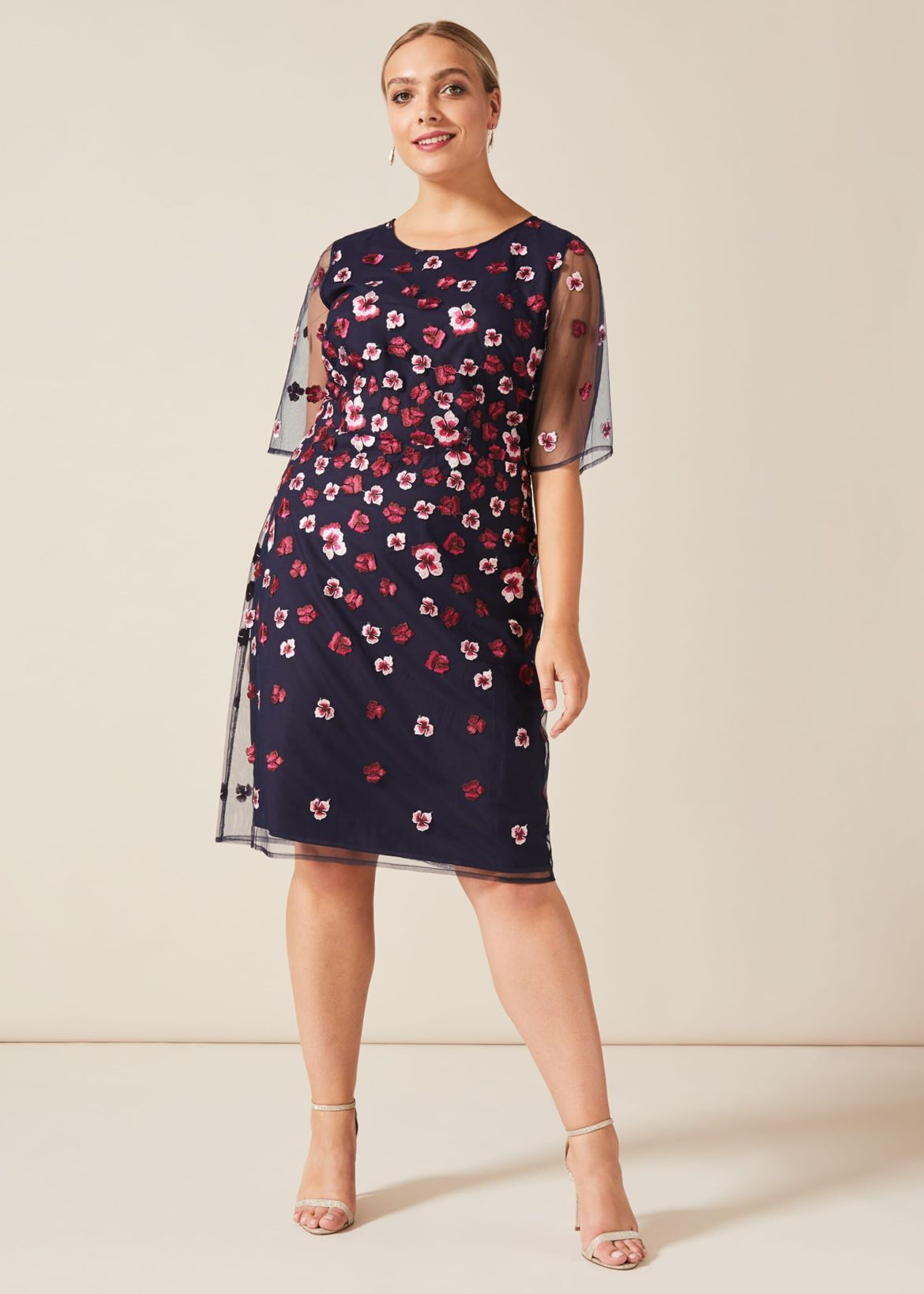 Monica Embroidered Dress