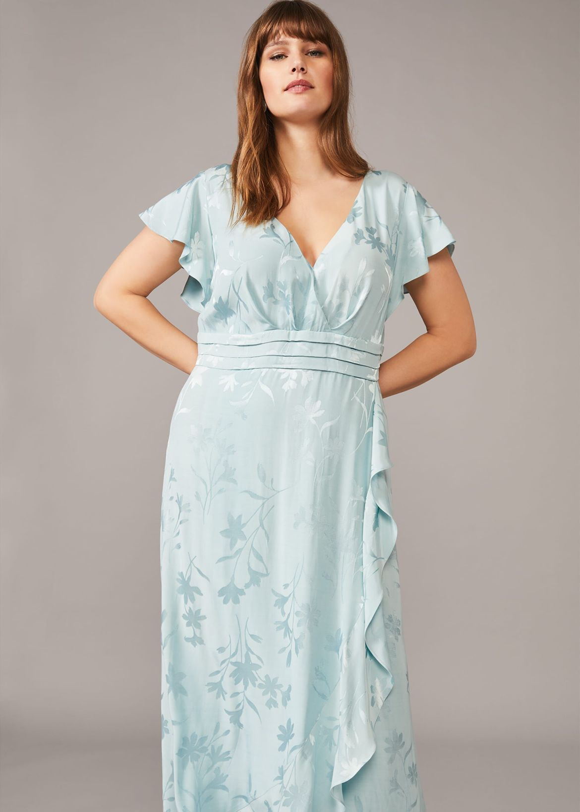 Rosie Jacquard Maxi Dress