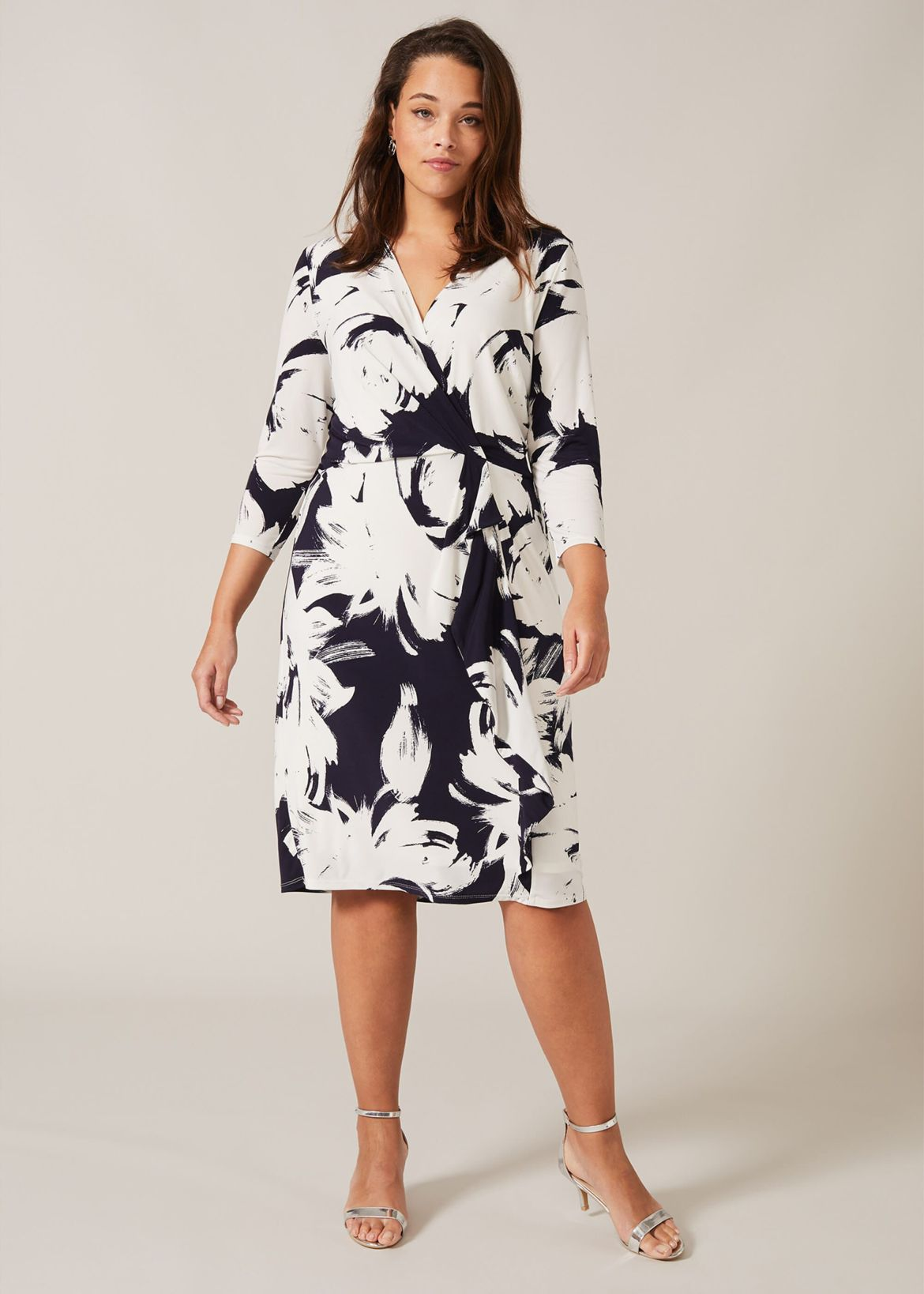 Drina Printed Dress