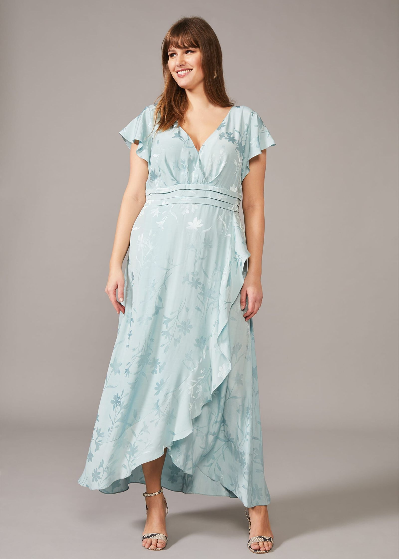 Rosie Jacquard Maxi Dress 2