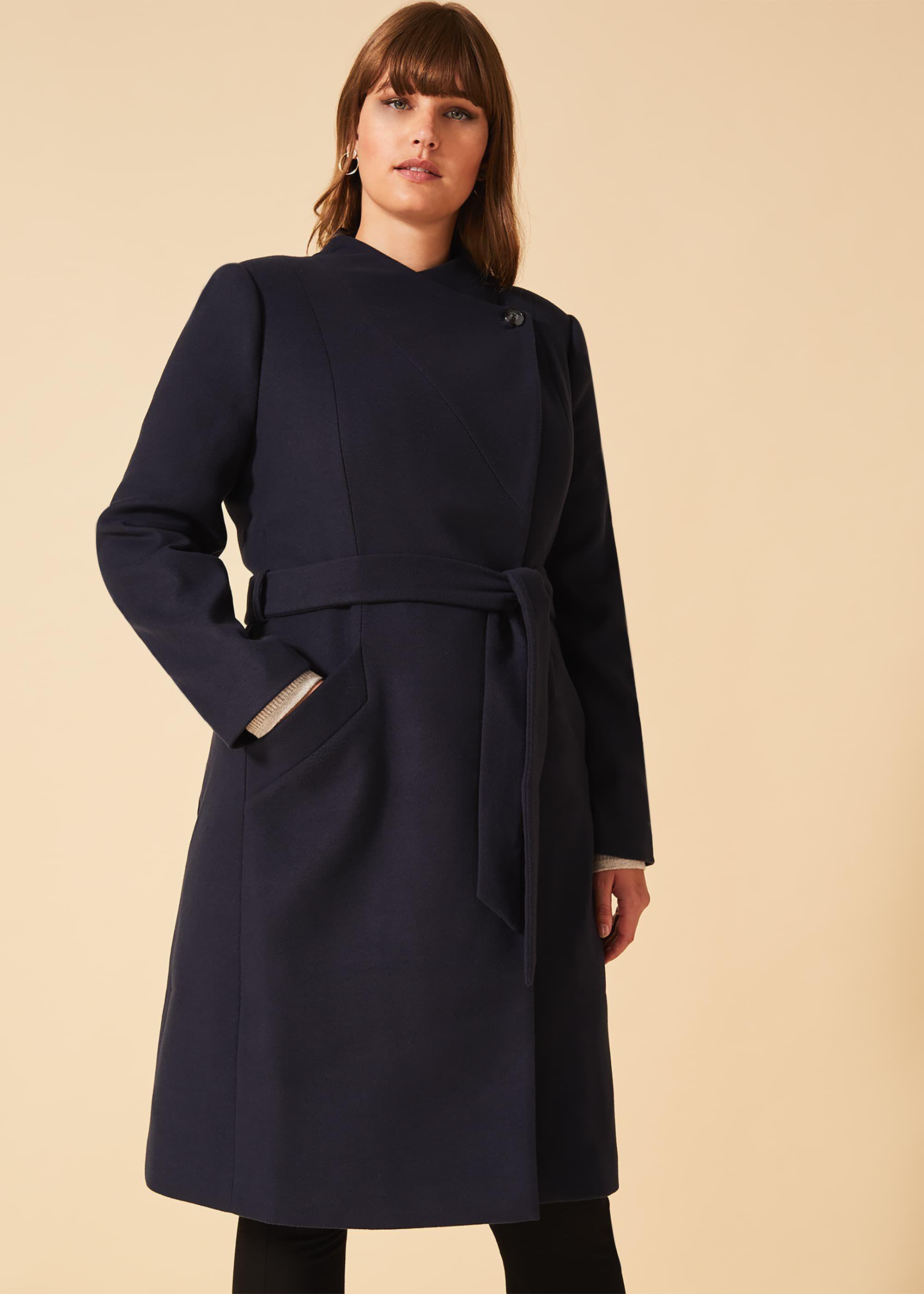 Susie Stand Up Collar Coat 4