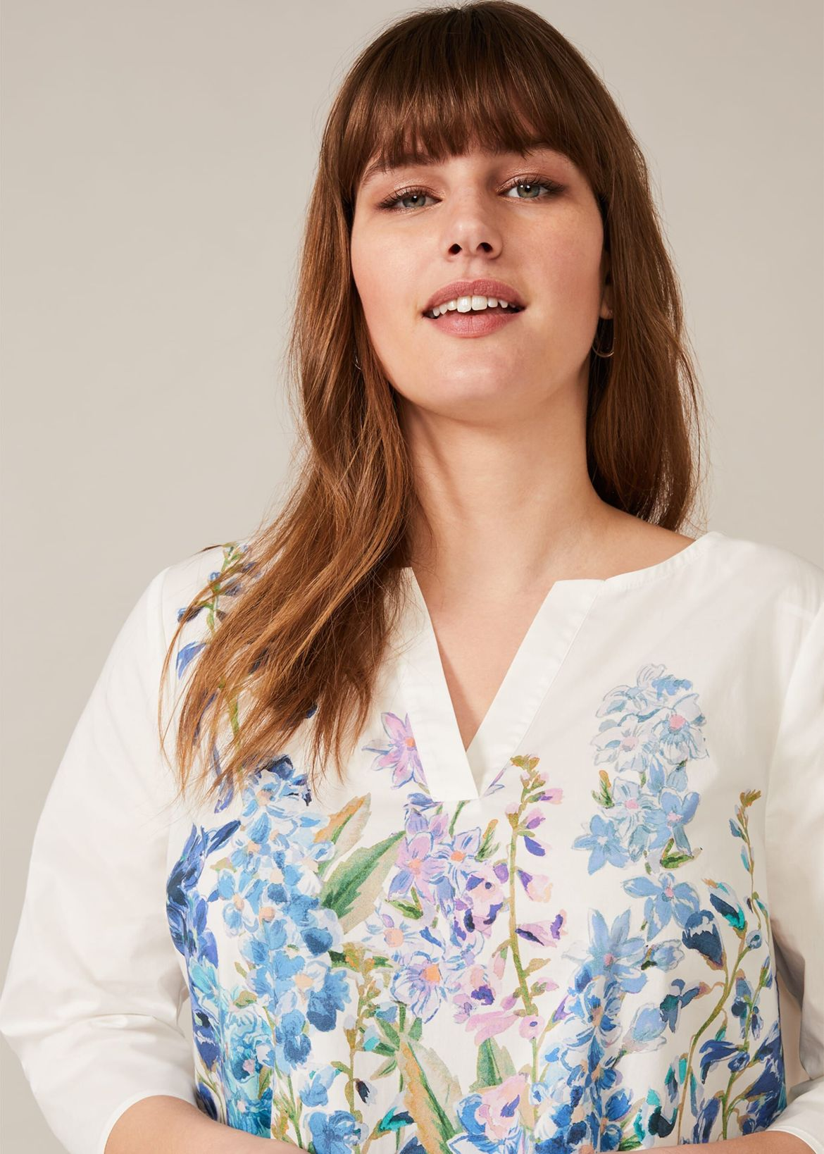 Lucy Meadow Print Top