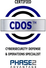 Cybersecurity Defense Digital Badge