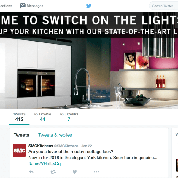 SMC Kitchens Twitter image