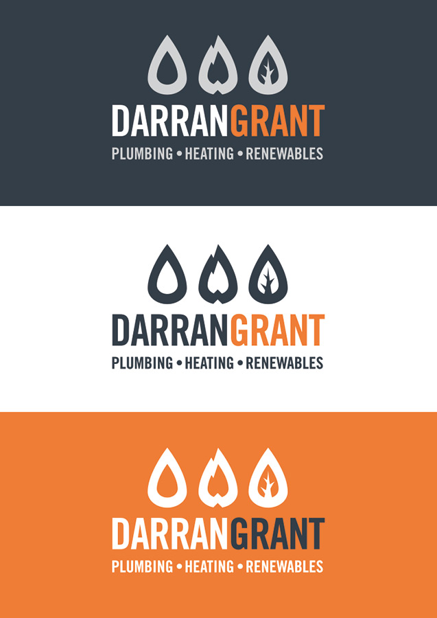 Colour variations of the logo