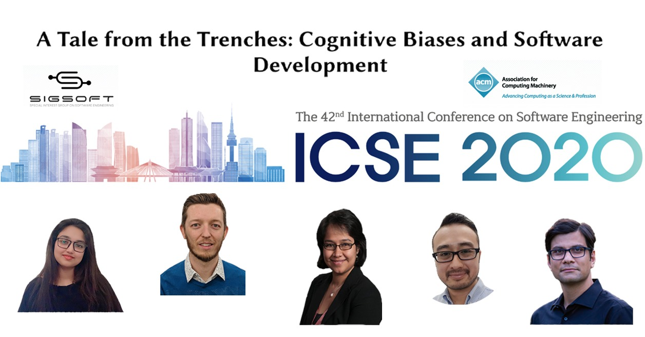 research paper wins icse distinguished paper award