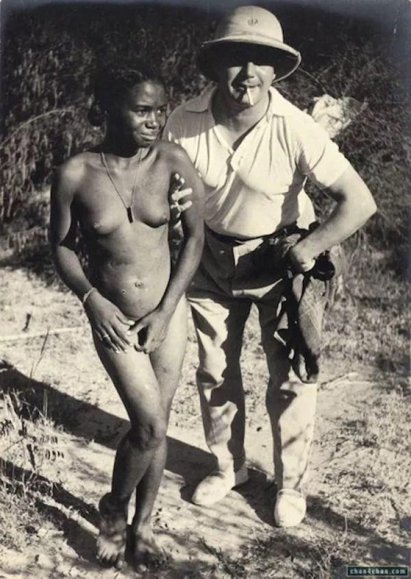 Naked slave girls