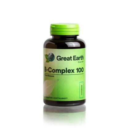 B-Complex 100 mg 90 st