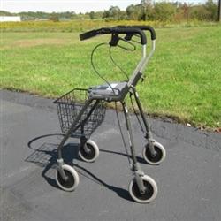 Futura Tall Four Wheel Walker Extra Tall Rollator