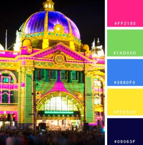 Color Palettes to Inspiration